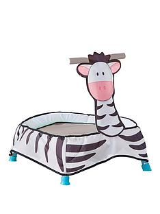 worlds-apart-zebra-toddler-trampoline