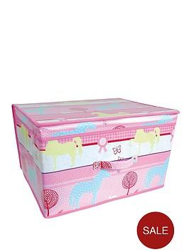 printed-pony-kids-storage-box-large