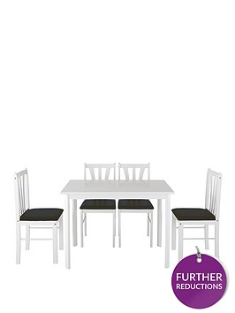 martino-111cm-dining-table-4-chairs-white