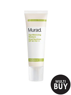 murad-free-gift-resurgence-age-balancing-moisture-broad-spectrum-spf-30-panbspamp-free-murad-age-reform-exfoliating-cleanser-200ml