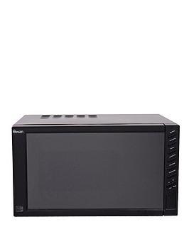 swan-sm22050b-800-watt-23-litre-mirror-door-microwave-black