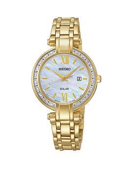 seiko-solar-stainless-steel-gold-tone-bracelet-ladies-watch