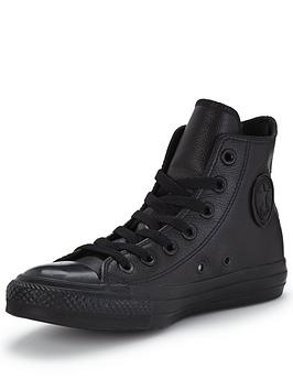 Taylor Chuck Hi Star Leather Converse All Tops 100 Guaranteed Cheap Online With Paypal Low Price Low Shipping Sneakernews Cheap Price Clearance Choice GTrOWEY