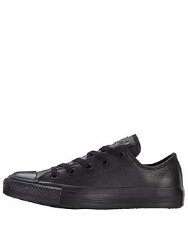 Chuck Plimsolls Taylor Leather Converse Star All Ox Cheap Sale The Cheapest XcnIjw