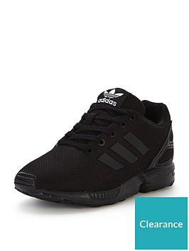 9e5292341 adidas Originals ZX Flux Childrens Trainer