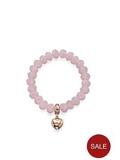 fiorelli-rose-quartz-glass-bead-and-rose-gold-tone-heart-stretch-bracelet
