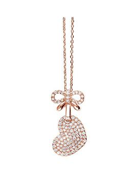 tresor-paris-rose-gold-plated-sterling-silver-heart-and-bow-pendant