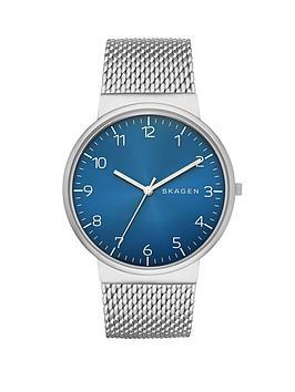 skagen-gents-ancher-blue-dial-mens-watch