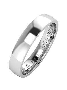 the-love-silver-collection-argentium-silver-wedding-band-4mm-with-optional-engraving