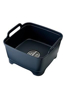 joseph-joseph-wash-and-drain-dishwashing-bowl-with-straining-plug-grey