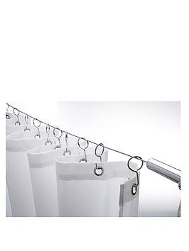 croydex-wireline-with-12-shower-curtain-hooks