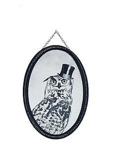 graham-brown-oswald-owl-oval-canvas-with-hanging-chain