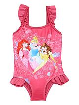 Girls Princess Swimming Costume