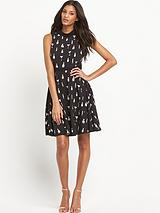 Ceci Conversational Print Dress