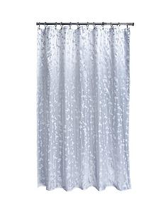 aqualona-metallic-leaf-soft-peva-shower-curtain