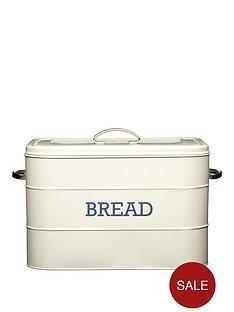 kitchencraft-living-nostalgia-antique-cream-bread-bin