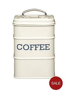 kitchencraft-living-nostalgia-antique-cream-coffee-tin