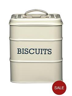 kitchencraft-living-nostalgia-antique-cream-biscuit-tin