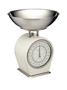 kitchencraft-living-nostalgia-antique-cream-mechanical-scales