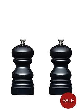 master-class-12cm-capstan-mills-set-of-2-black