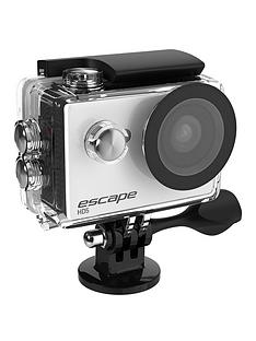 kitvision-escape-hd5-action-camera-ndash-white-with-free-accessory-floating-grip-for-underwater-use