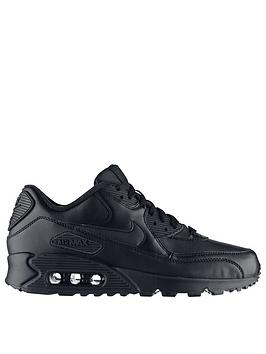 hot sale online 36bd1 274c8 Nike Air Max 90 Leather Trainers