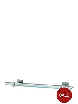 aqualux-haceka-mezzo-tec-glass-shelf-600-mm-chrome