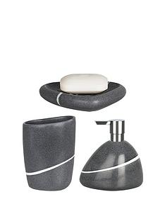 spirella-etna-set-of-3-bathroom-accessories-stone