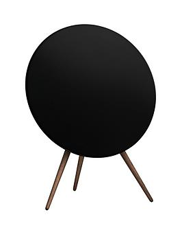 bo-play-by-bang-olufsen-beoplay-a9-airplay-music-system-black-with-walnut-legs