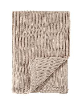 catherine-lansfield-soft-touch-knitted-throw--nbspnatural