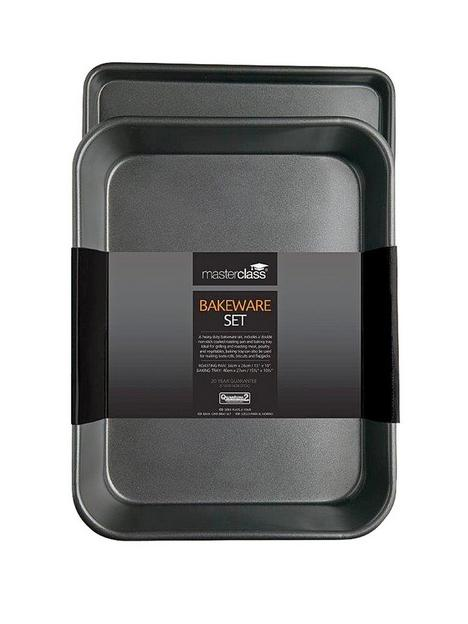 masterclass-non-stick-roasting-tray-and-ovenbaking-tray-twin-pack
