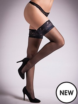 ann-summers-lace-glossy-hold-ups