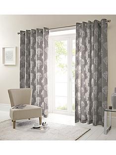 Silvestry Printed Eyelet Curtains