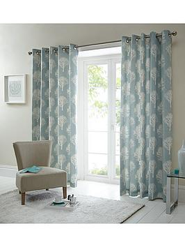 silvestry-printed-lined-eyelet-curtains