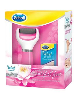 scholl-velvet-smooth-diamond-pedi-deluxe-gift-set