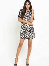 Lulu Leopard Shift Dress