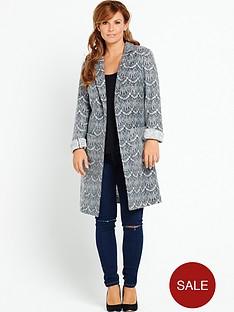coleen-coleen-rooney-lace-textured-coat