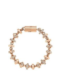 lola-and-grace-rose-gold-plated-roundelle-all-around-collier-bracelet-made-with-swarovski-elements