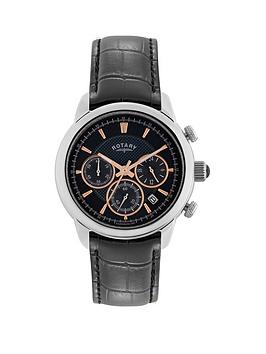 rotary-monaco-chronograph-black-dial-stainless-steel-case-black-leather-strap-mens-watch