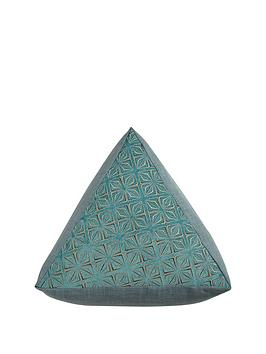 samba-triangle-pouffe-ndash-teal