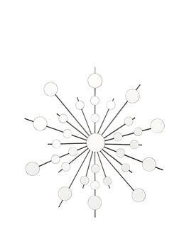 ice-burst-mirrorednbspmetal-wall-art