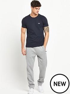 boss-small-logo-short-sleeve-t-shirt-navy