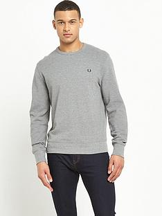 fred-perry-pique-crew-sweat