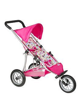 mamas-papas-double-decker-dolls-stroller--nbspflowers