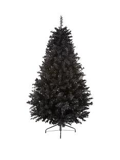 6ft-black-regal-fir-christmas-tree-with-metal-stand
