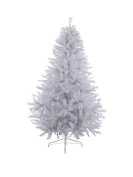 7ftnbspwhite-regal-fir-christmas-treenbspwith-metal-stand