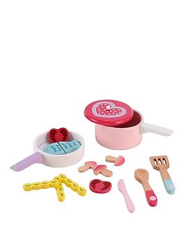 early-learning-centre-early-learning-centre-wooden-pots-amp-pans