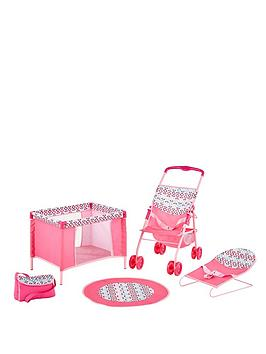 sportspower-4-in-1-play-and-care-set-little-flower