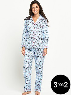 sorbet-flannel-pj-penguin-snowflake