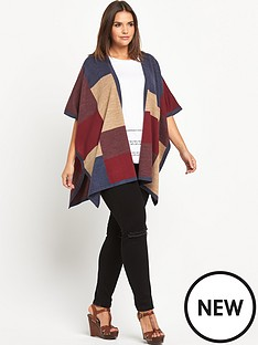 so-fabulous-colour-block-blanket-cape